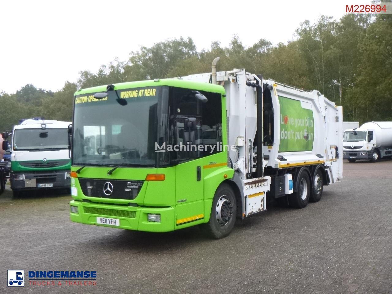 боклукчийски камион MERCEDES-BENZ Econic 2629 RHD 6x2 Geesink Norba refuse truck