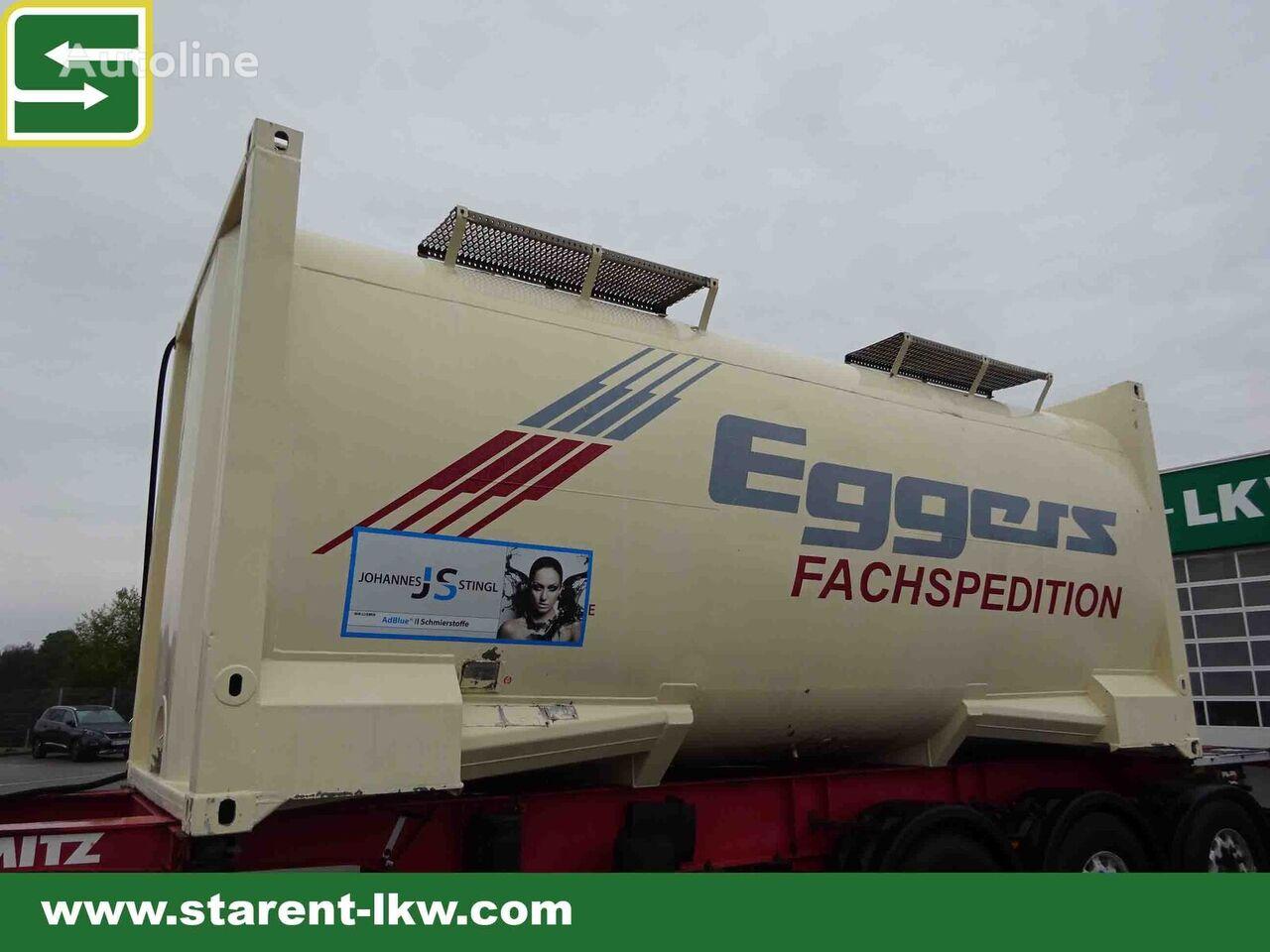 20 футов контейнер-цистерна Kässbohrer, Tankcontainer, 27.500 lt. Fassungsraum, 20 ft. TC