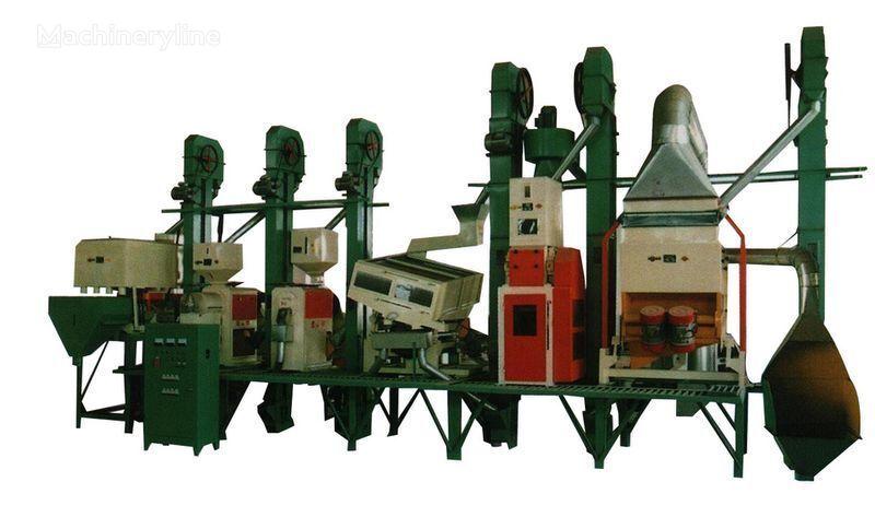 други машини за преработка на храни Рисовый завод Китай 18 - 150 тонн в сутки