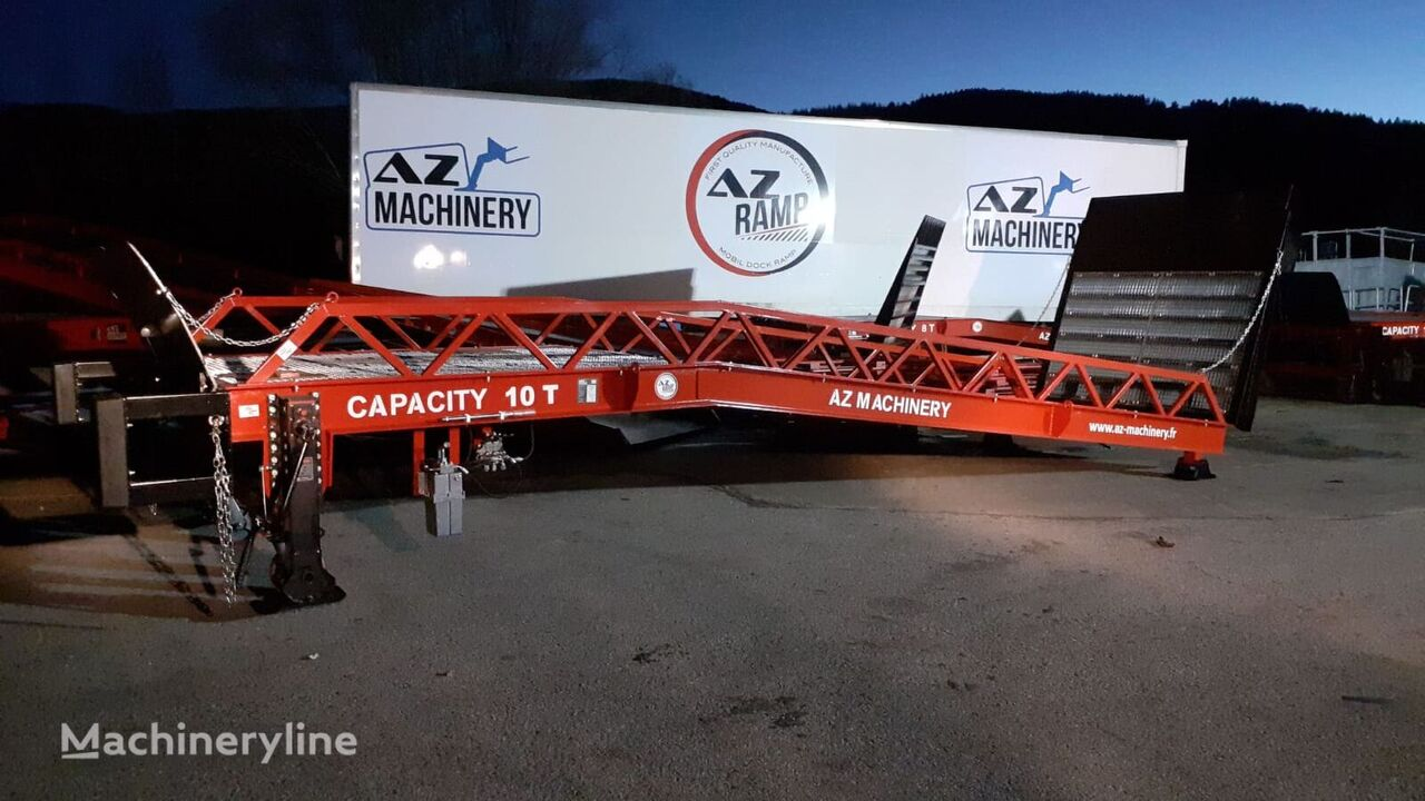 нов мобилна рампа AZ-MACHINERY star10