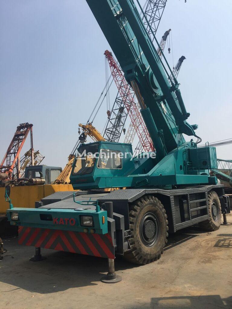 автокран KATO KR500 kato rough terrain crane