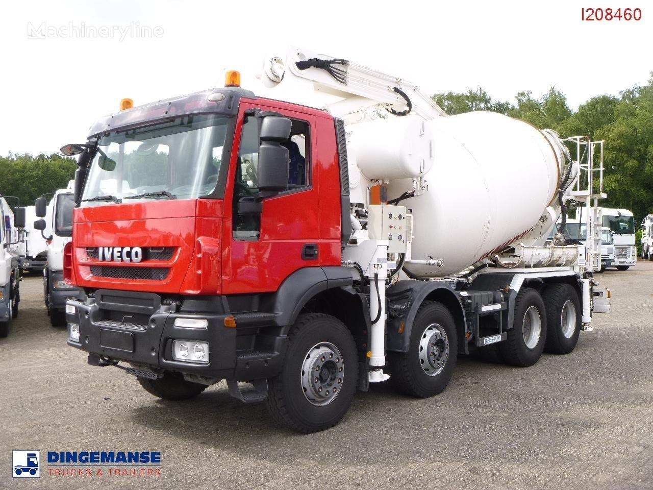 бетон-помпа IVECO AD410T45 8x4 pump/mixer 28 m