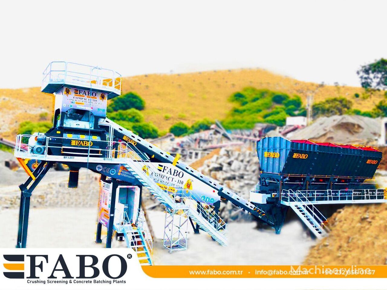 нов бетонов възел Fabo  COMPACT-110 | НОВЫЙ ПРОЕКТ