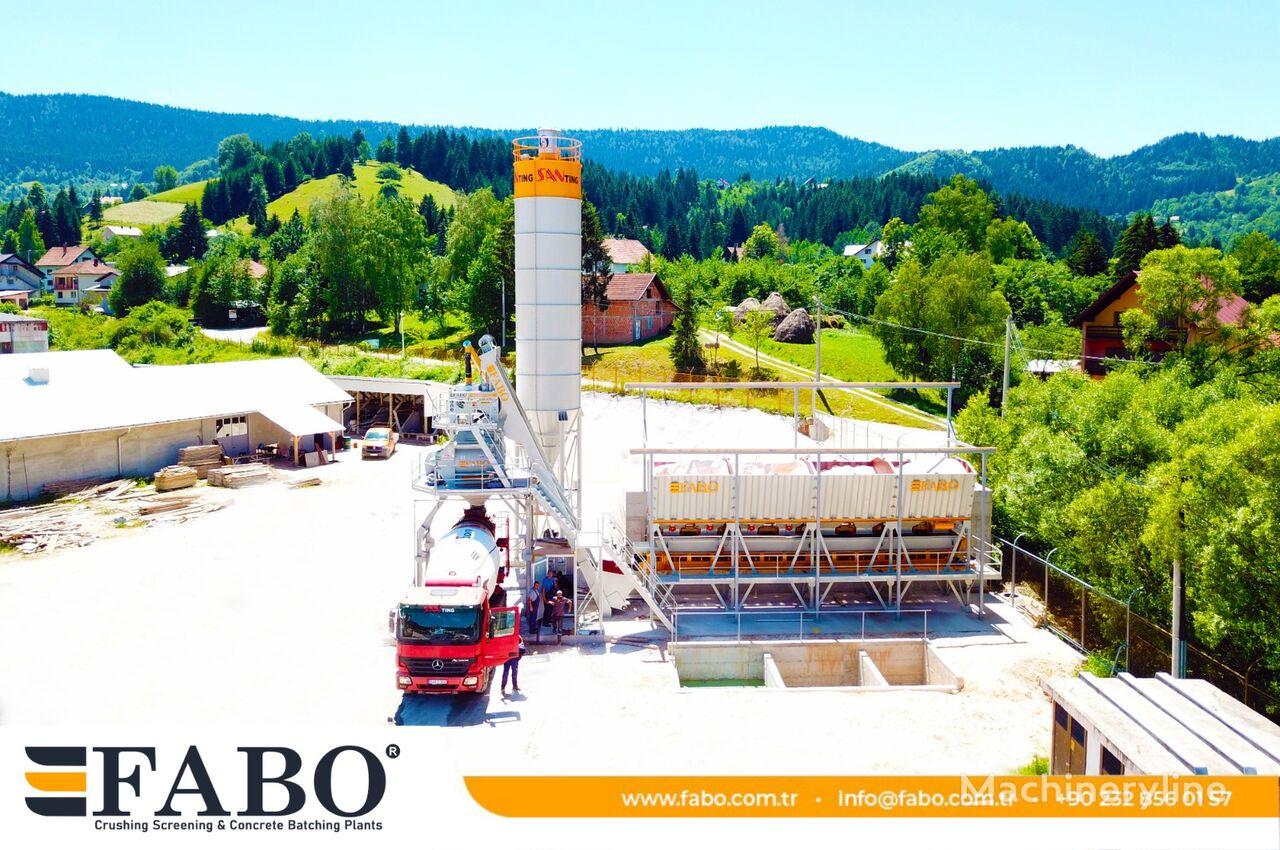 нов бетонов възел Fabo FABOMIX COMPACT-110 NEW GENERATION CONCRETE PLANT