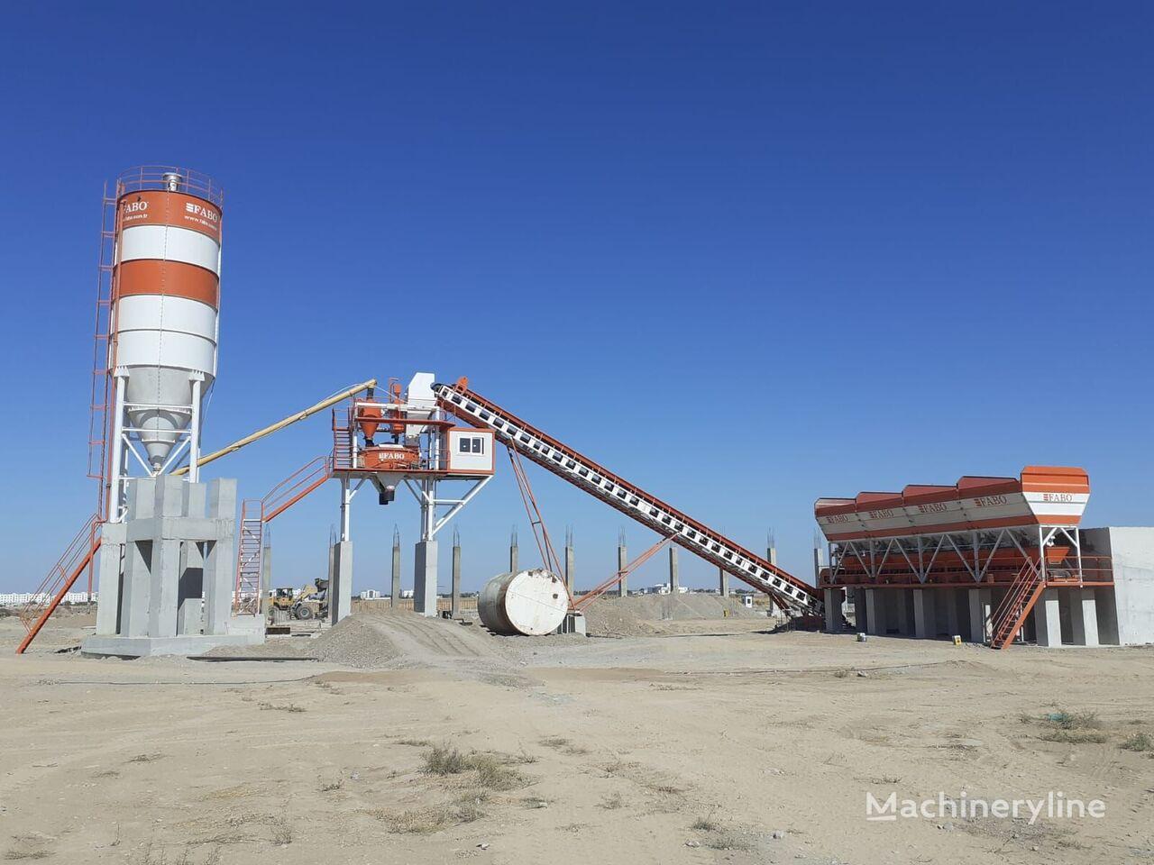 нов бетонов възел Fabo POWERMIX 90 STATIONARY CONCRETE MIXING PLANT WITH HIGH CAPACITY