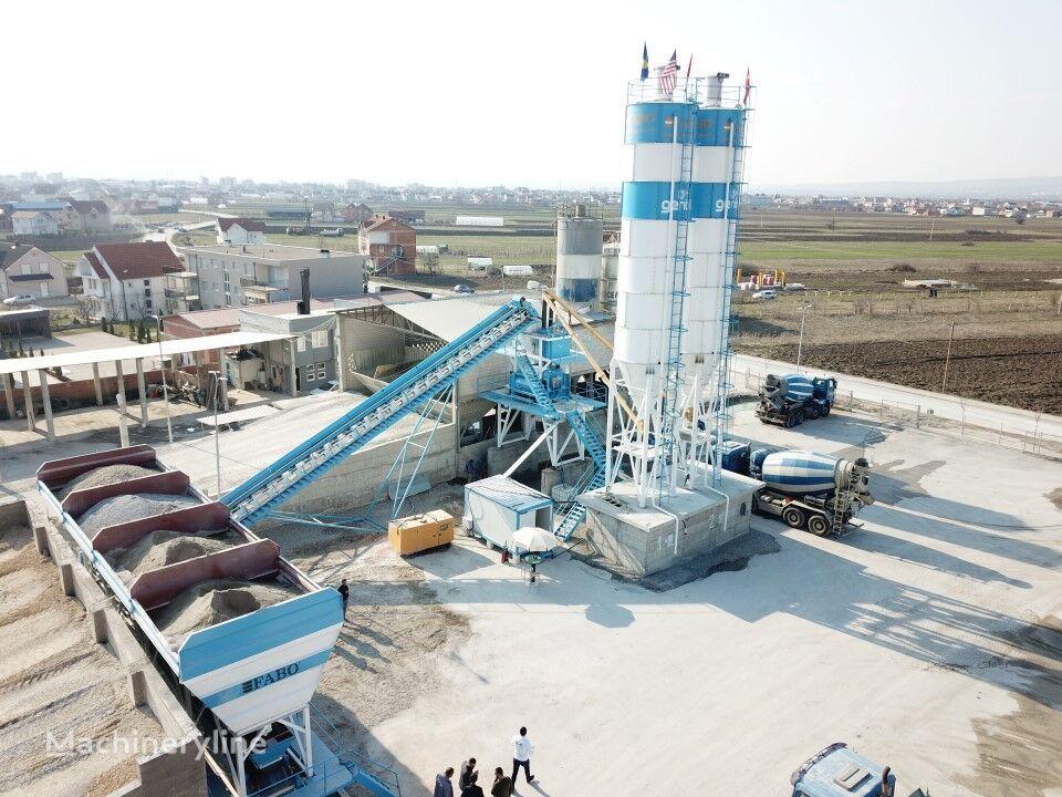 нов бетонов възел Fabo Powermix-100 Стационарная Бетоносмесительная Установка