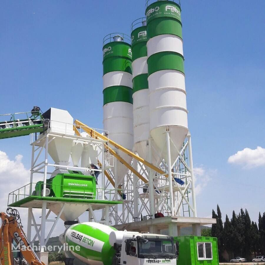 нов бетонов възел Fabo Powermix-130 Стационарная Бетоносмесительная Установка