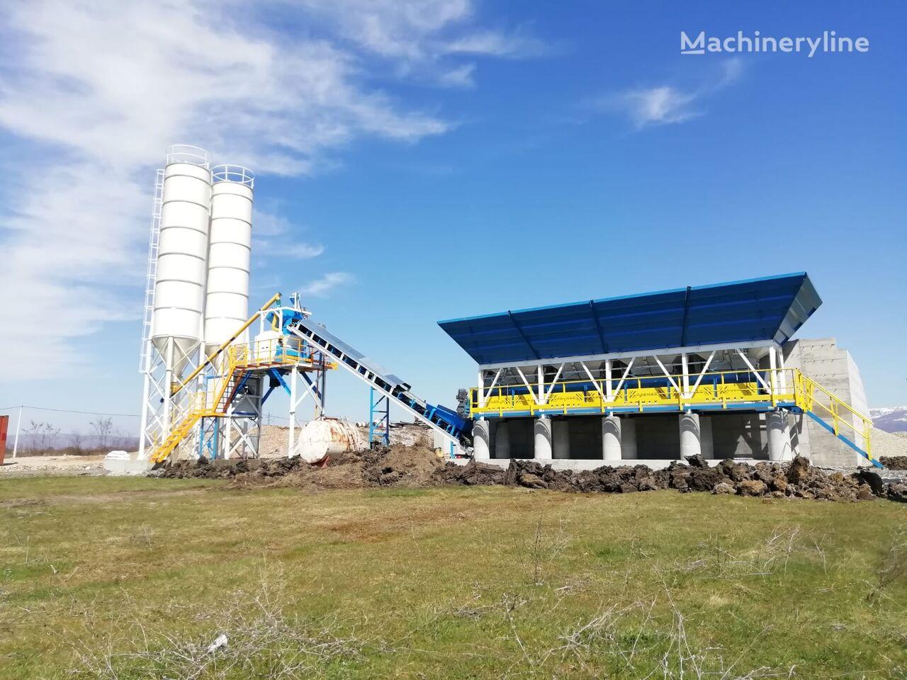 нов бетонов възел PROMAX Compact Concrete Batching Plant C60-SNG-LINE (60m3/h)