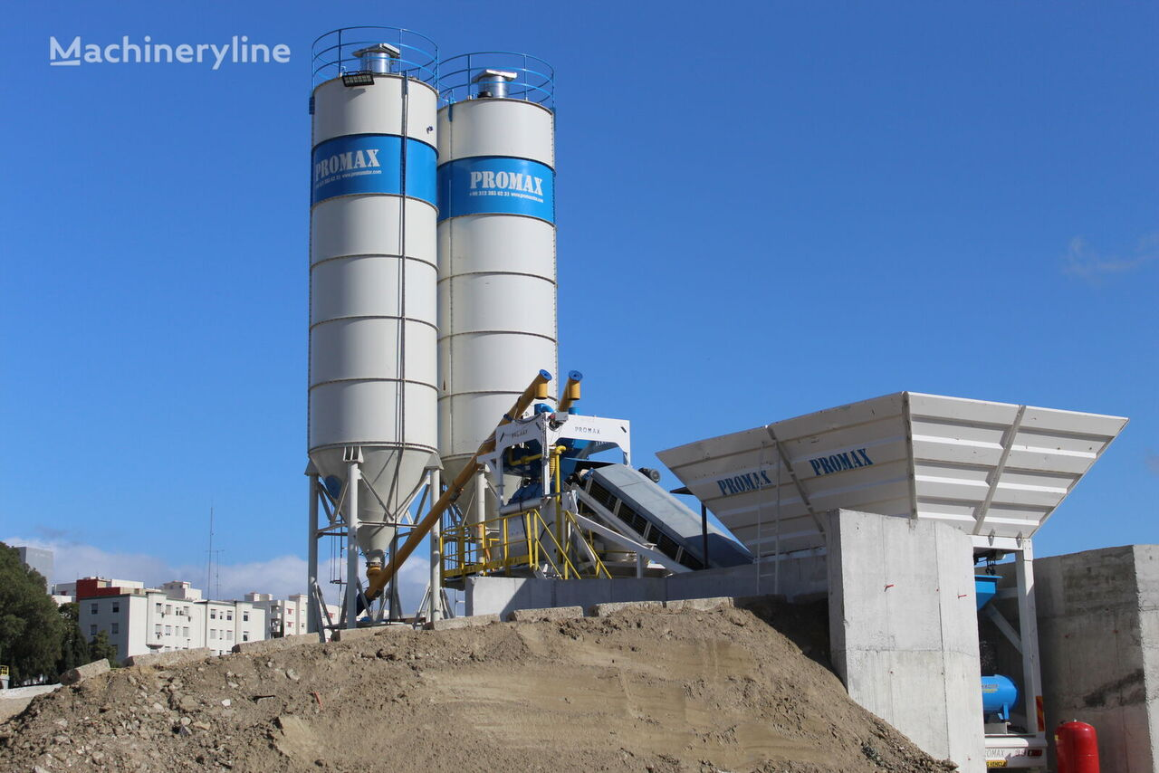 нов бетонов възел PROMAX Mobile Concrete Batching Plant  M100 TWN