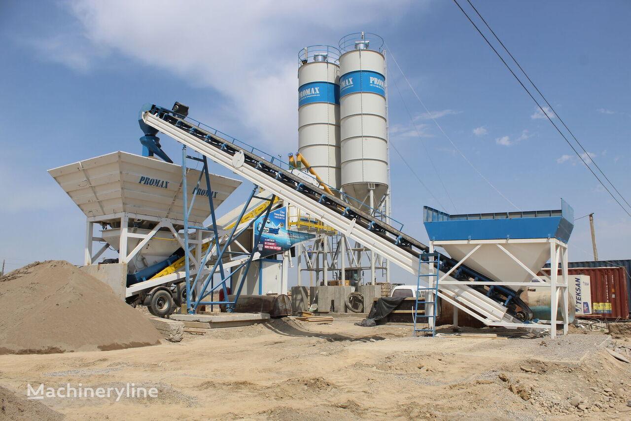 нов бетонов възел PROMAX Mobile Concrete Batching Plant PROMAX M100-TWN (100m3/h)