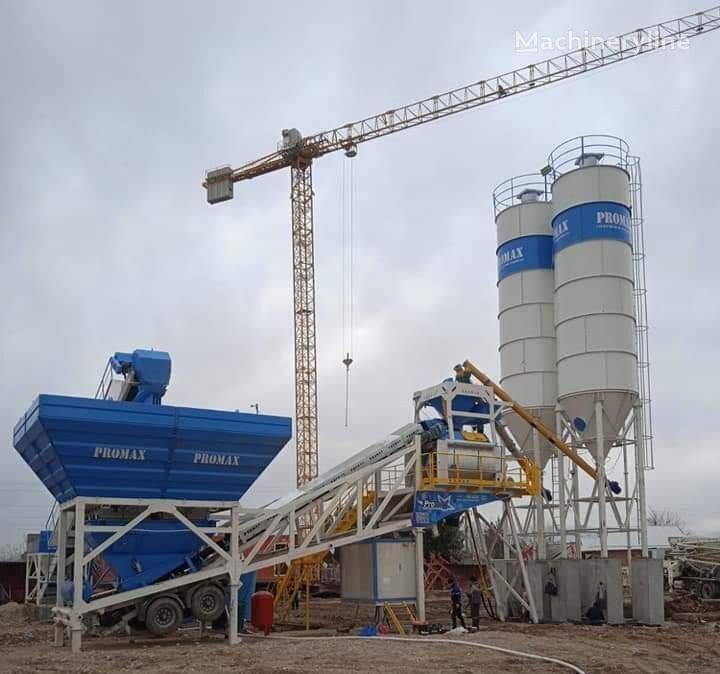 нов бетонов възел PROMAX Mobile Concrete Batching Plant PROMAX M120-TWN (120m³/h)