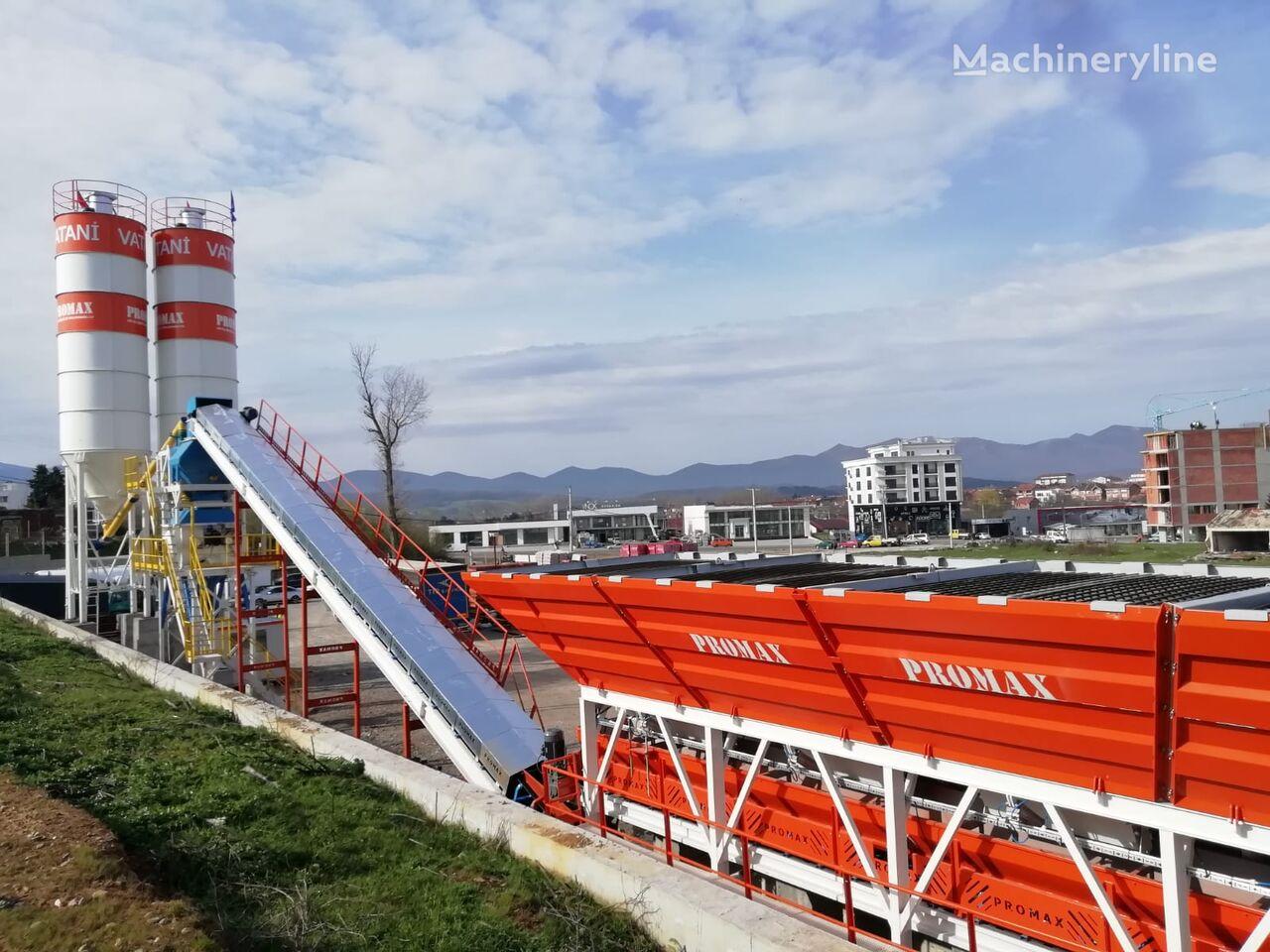 нов бетонов възел PROMAX STATIONARY Concrete Batching Plant S100 TWN (100m³/h)
