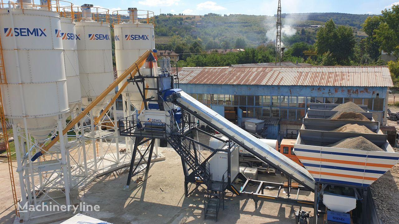 нов бетонов възел SEMIX Mobile 120-135Y MOBILE CONCRETE BATCHING PLANTS 120-135m³/h