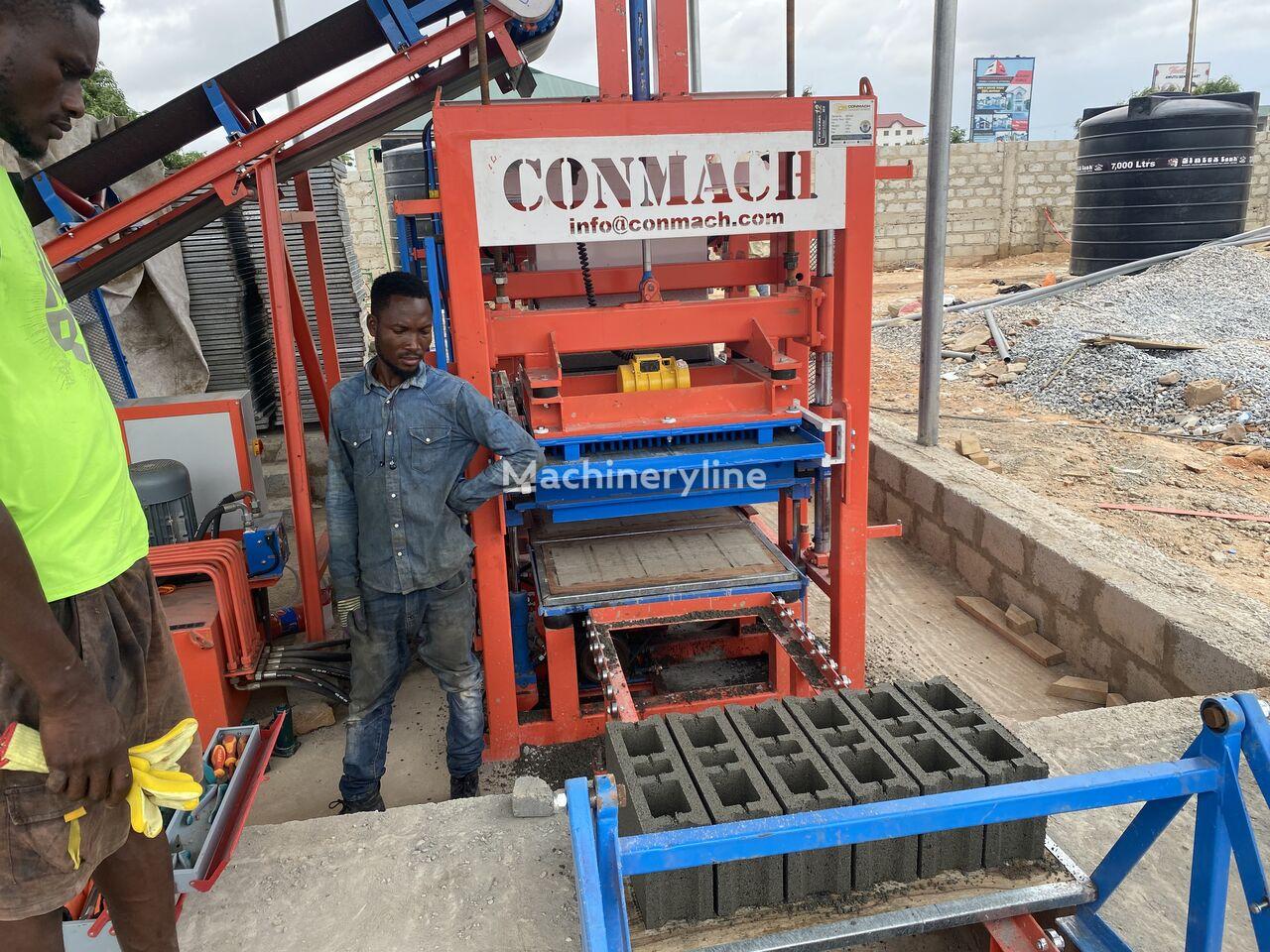 ново оборудване за производство бетонни блокчета CONMACH BlockKing-12MS Concrete Block Making Machine - 4.000 units/shift