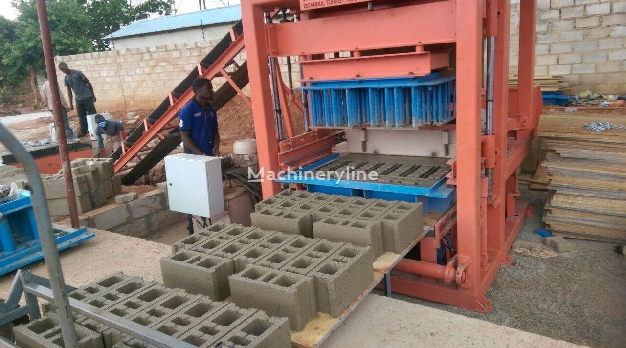 ново оборудване за производство бетонни блокчета CONMACH BlockKing-18MS Concrete Block Making Machine - 7.000 units/shift