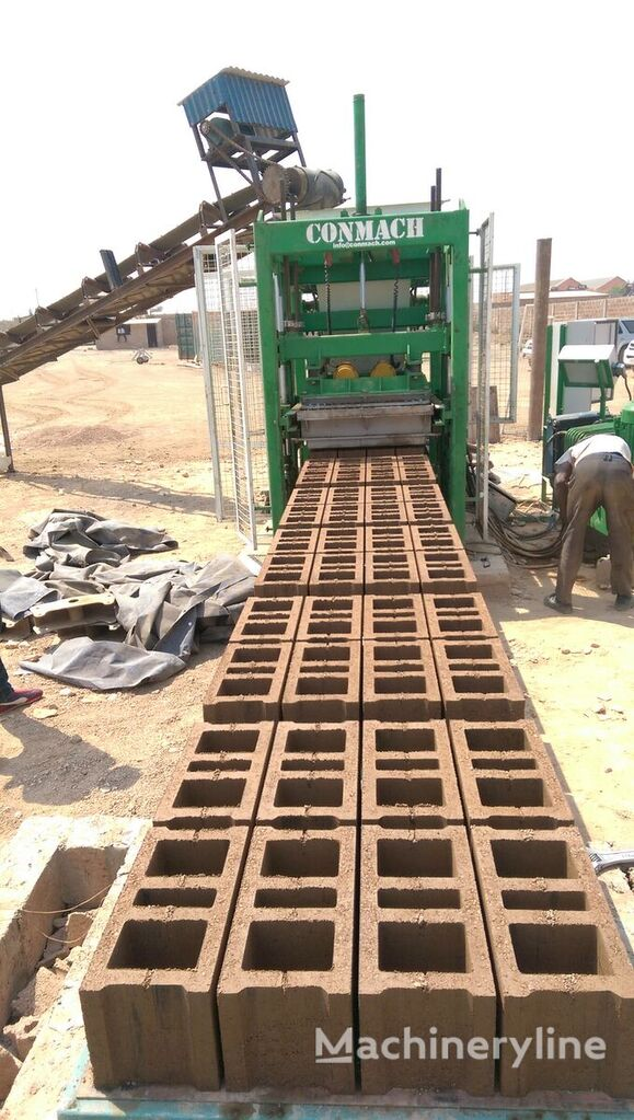 ново оборудване за производство бетонни блокчета CONMACH BlockKing-20MS Concrete Block Making Machine - 8.000 units/shift