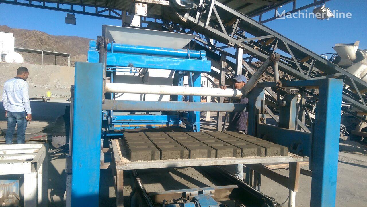 ново оборудване за производство бетонни блокчета CONMACH BlockKing-30MD Concrete Block Making Machine -12.000 units/shift