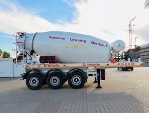 полуремарке бетонобъркачка SCHWARZMÜLLER TTC-Fulda Betonmischer Auflieger mit Motor  NEU
